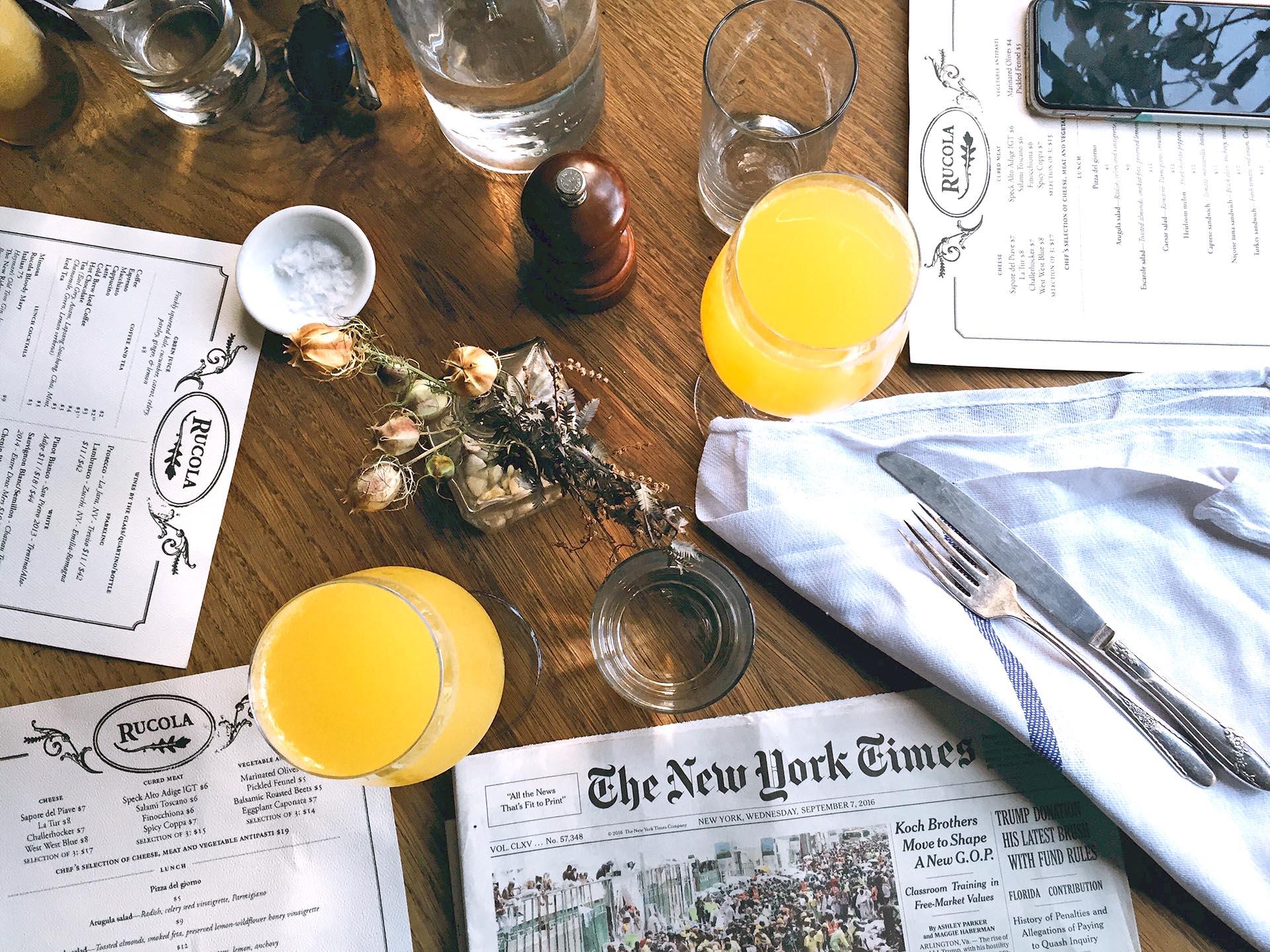 Um bom restaurante merece um cardápio bem impresso. Foto: Unsplash.