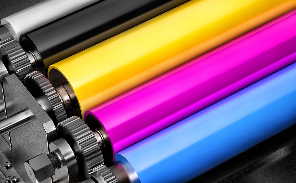 Diferença entre CMYK e RGB. Foto: Shutterstock.
