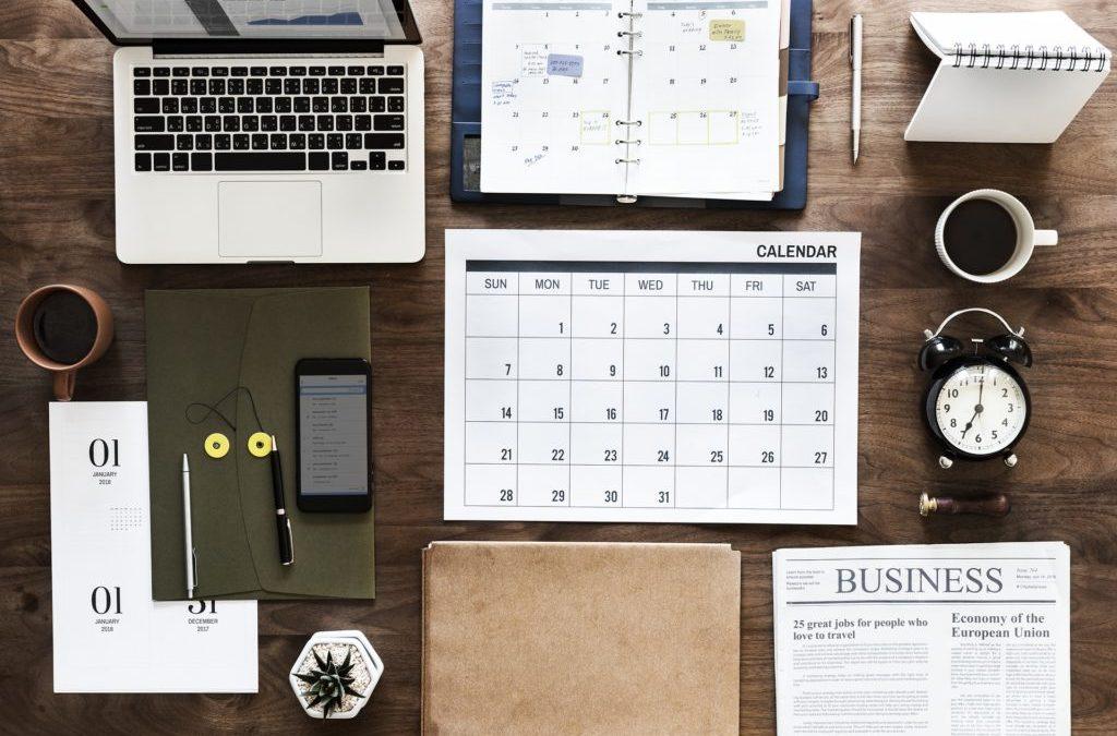 Como criar um calendário rapidamente