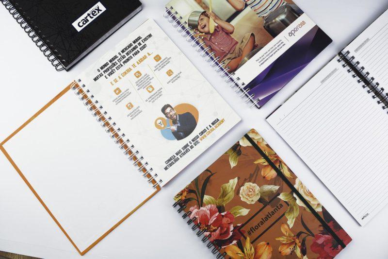 Cadernos como estratégia de marketing